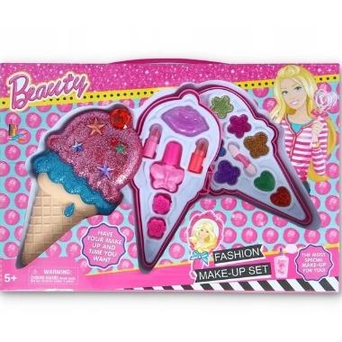 Kosmētikas komplekts meitenēm saldējuma formā