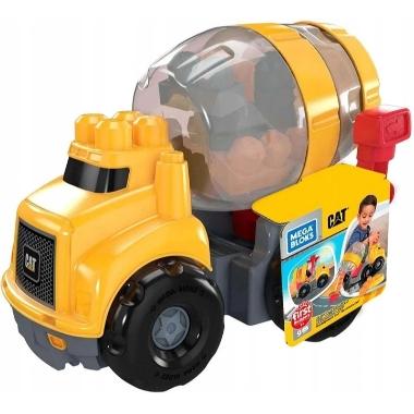 Rotaļu betona maisītājs ar klučiem, Mega Bloks