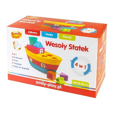 Rotaļu kuģis ar figūrām, Smily play