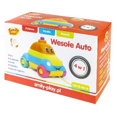 Rotaļu auto piramīda, Smily play