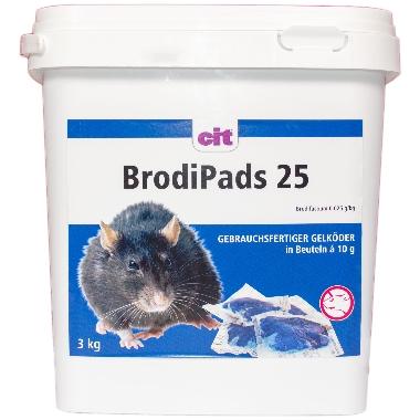 Žurku inde BrodiPads 25, 3 kg