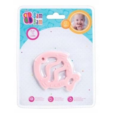 Rotaļlieta zīdaiņiem Zivtiņa, rozā