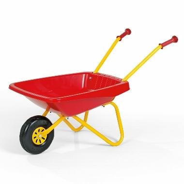 Ķerra bērniem plastmasas sarkana, Rolly Toys