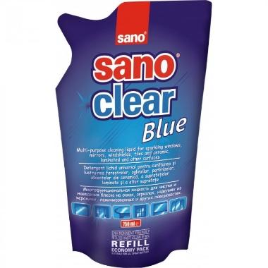 Stiklu tīrīšanas līdzeklis rezerve Sano Clear, 1 L
