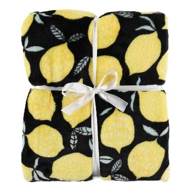 Pleds Lemons 4living, 127 x 152 cm