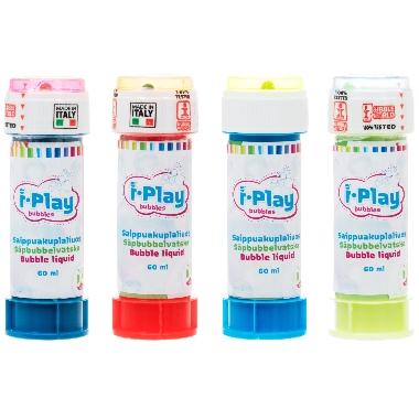 Ziepju burbuļi i-Play, 60 ml, 1 gab.