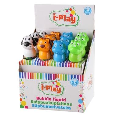 Ziepju burbuļi Dzīvnieki, i-Play, 175 ml