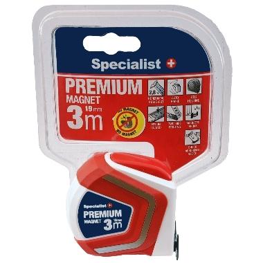 Mērlente Specialist+ Premium, 3m x 19mm