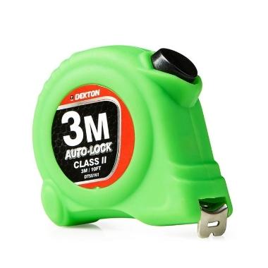 Mērlente Dekton Auto Lock, 3m x 16mm