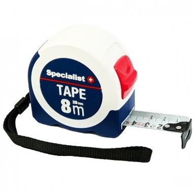 Mērlente Specialist+ Tape, 8m x 25mm