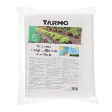 Agroplēve balta (17 g/m²), 1,5x10 m, Tarmo