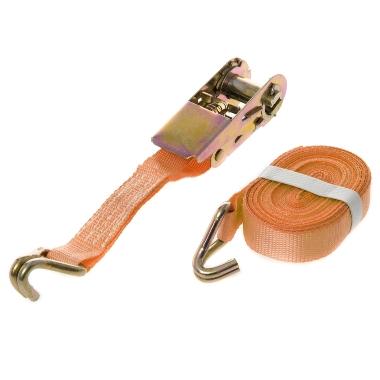 Kravu nostiprināšanas siksna Carman oranža, 6m x 25mm, 500 kg