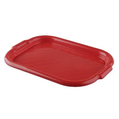 Plastmasas paplāte sarkana, Bentom