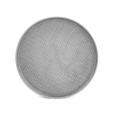 Šķīvis Marrakesz pelēks, Lubiana, 20 cm