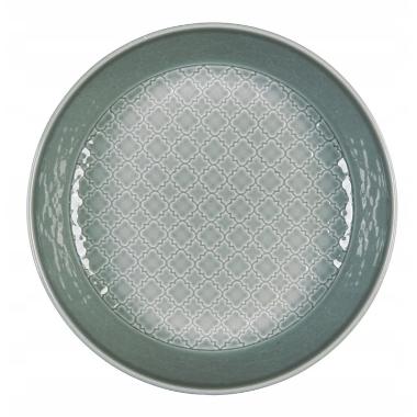Šķīvis dziļais Marrakesz pelēks, Lubiana, 20 cm