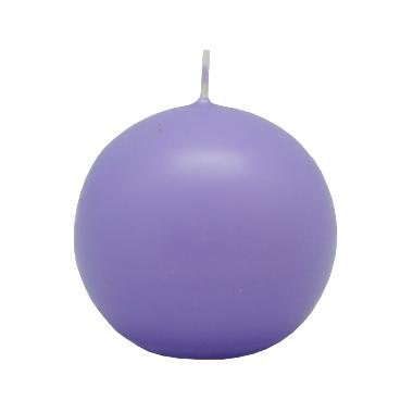 Lodes formas svece gaiši violeta, Diana sveces, 6 cm