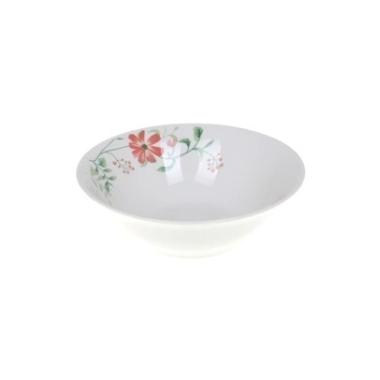 Keramikas bļoda ar ziediem, 18 cm