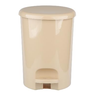 Atkritumu tvertne ar pedāli bēša, 16 L