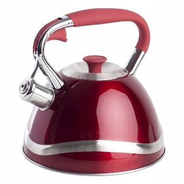 Tējkanna Giovanna sarkana, Berretti, 3 L