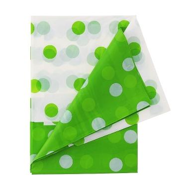 Galdauts zaļš ar punktiem, Godan, 132x182 cm