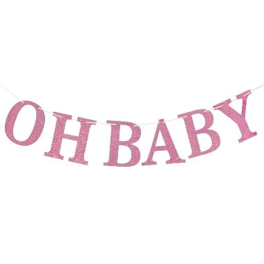 Virtene Oh Baby rozā, Godan, 300 cm