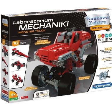 Konstruktors Monster Truck Laboratorium Mechaniki, Clementoni