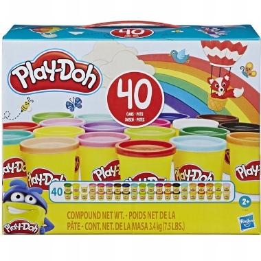 Plastilīna komplekts Play-Doh, 40 gab.