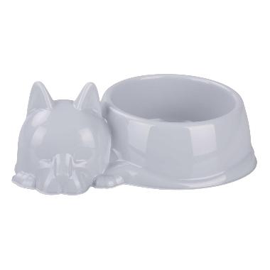Bļoda kaķiem pelēka, Barsik, 500 ml
