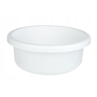 Apaļa bļoda Bentom, balta, Ø31cm, 6L