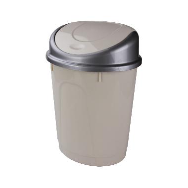 Atkritumu konteiners bēšs, 8 L