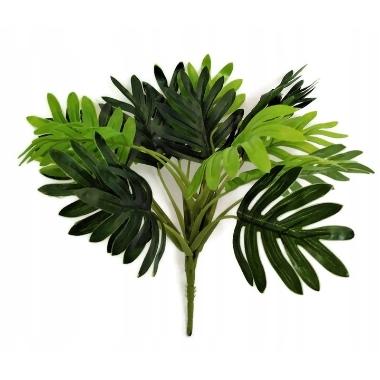 Mākslīgas palmas lapas, 1 gab.