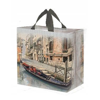 Maisiņš iepirkumiem Venecija, 38x40x22 cm