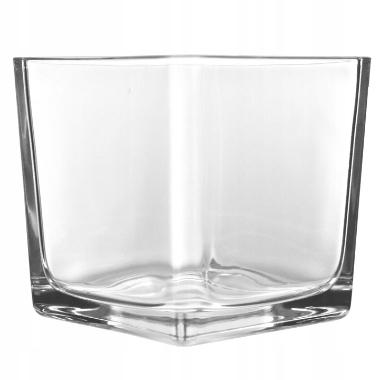Stikla vāze kvadrātveida, 10 cm