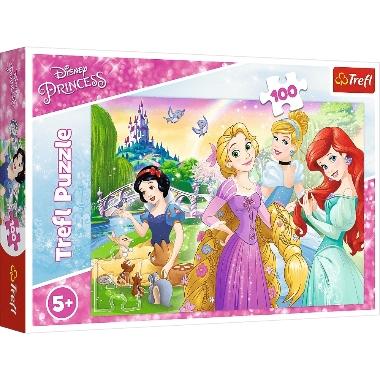 Puzle Disneja princeses, Trefl, 100 gab.
