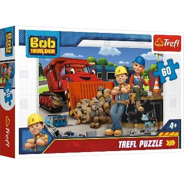 Puzle Bob The Builder, Trefl, 60 gab.