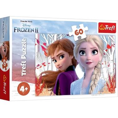 Puzle Frozen, Trefl, 60 gab.