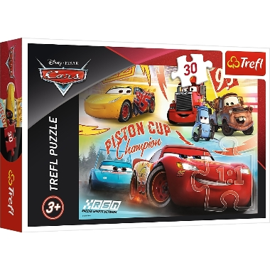 Puzle Cars 3, Trefl, 30 gab.