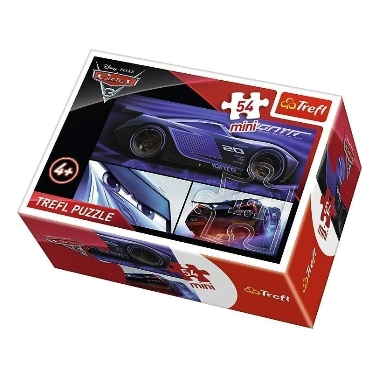 Puzle Cars Mini, Trefl, 54 gab.