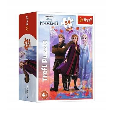 Puzle Frozen Mini, Trefl, 54 gab.