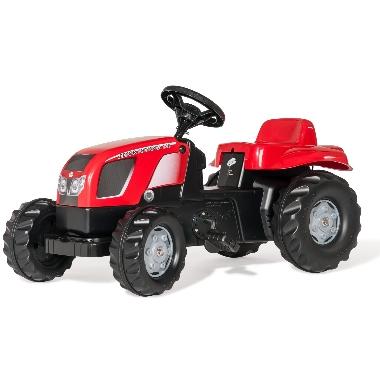 Bērnu minamais traktors ar piekabi Zetor Forterra 135, Rolly Toys