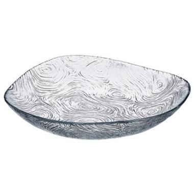 Dekoratīvs šķīvis Linden stikla, 19 cm