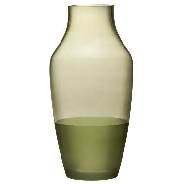 Vāze Dip zaļa, 4Living, 30 cm