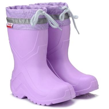 Bērnu gumijas zābaki rozā Camp 762, Lemigo