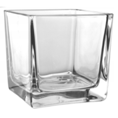 Stikla vāze Sigma Mini, 6x6cm