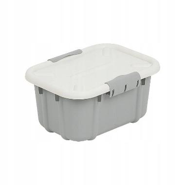 Uzglabāšanas kaste pelēka, 3,6 L