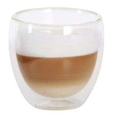 Dubultstikla glāze karstiem dzērieniem, Toro, 280 ml