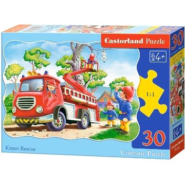 Puzle ugunsdzēsēji, Castorland, 30 gab.