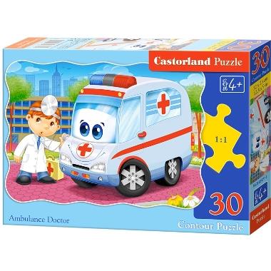 Puzle ambulance, Castorland, 30 gab.