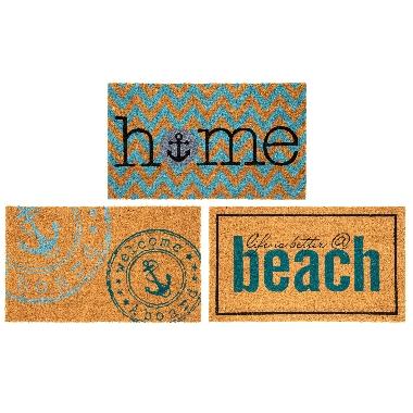 Paklājs durvju Beach, 4living, 45x75cm, 1 gab.