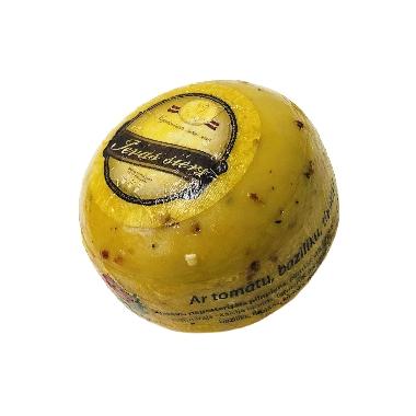 Ievas siers ar tomātu, baziliku, timiānu, 500 g